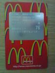 マクドナルドカード