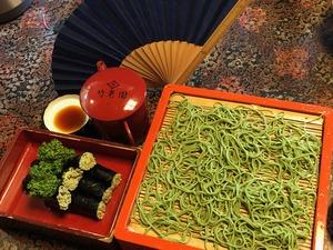 竹老園のそば寿司.JPG